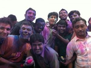 Our Little Holi Bash