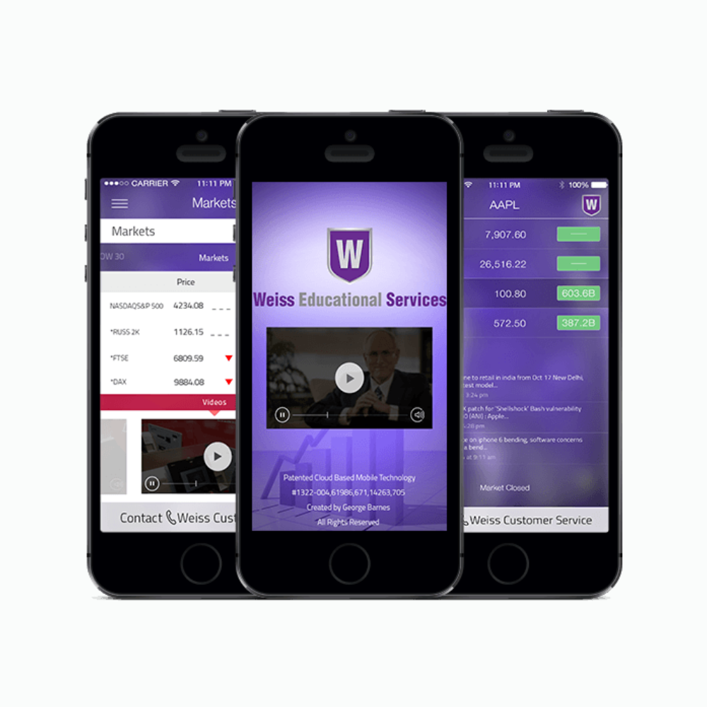 Weiss Mobile App