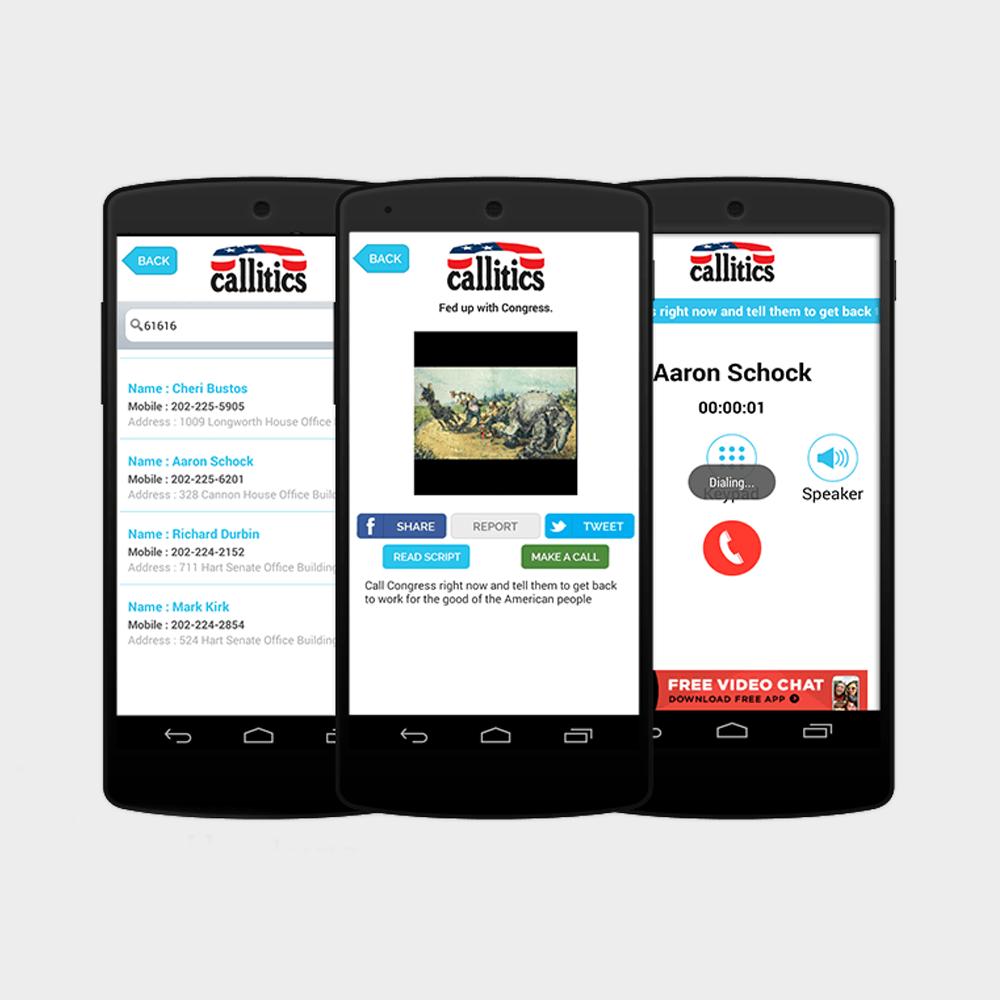 Callitics Mobile App