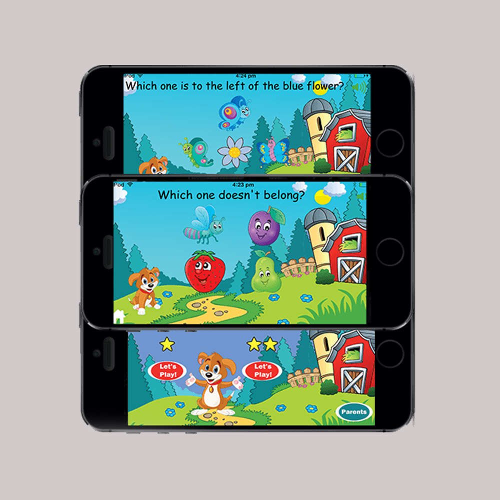 Kids Game Application Development