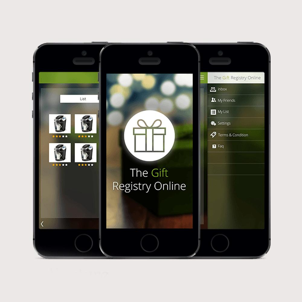 Gift Registry Social Gifting App
