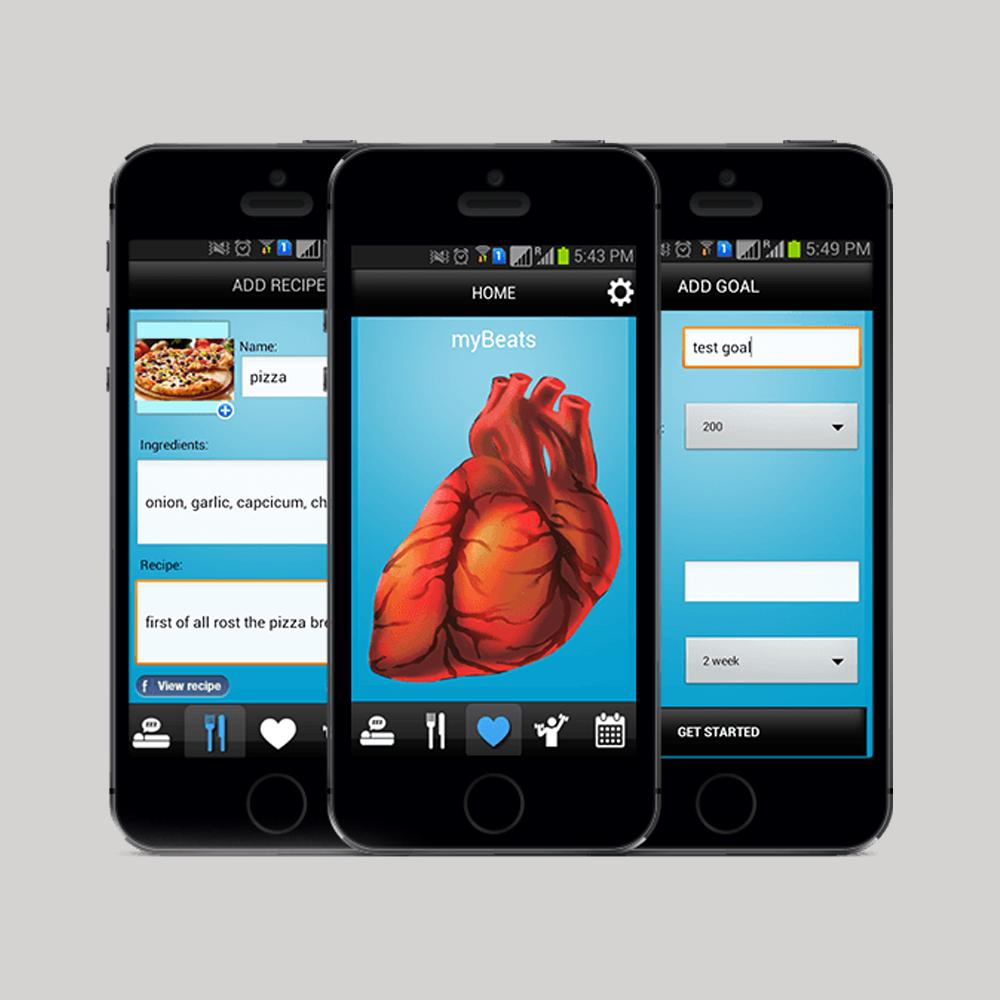 Heart Health Checkup Mobile Application