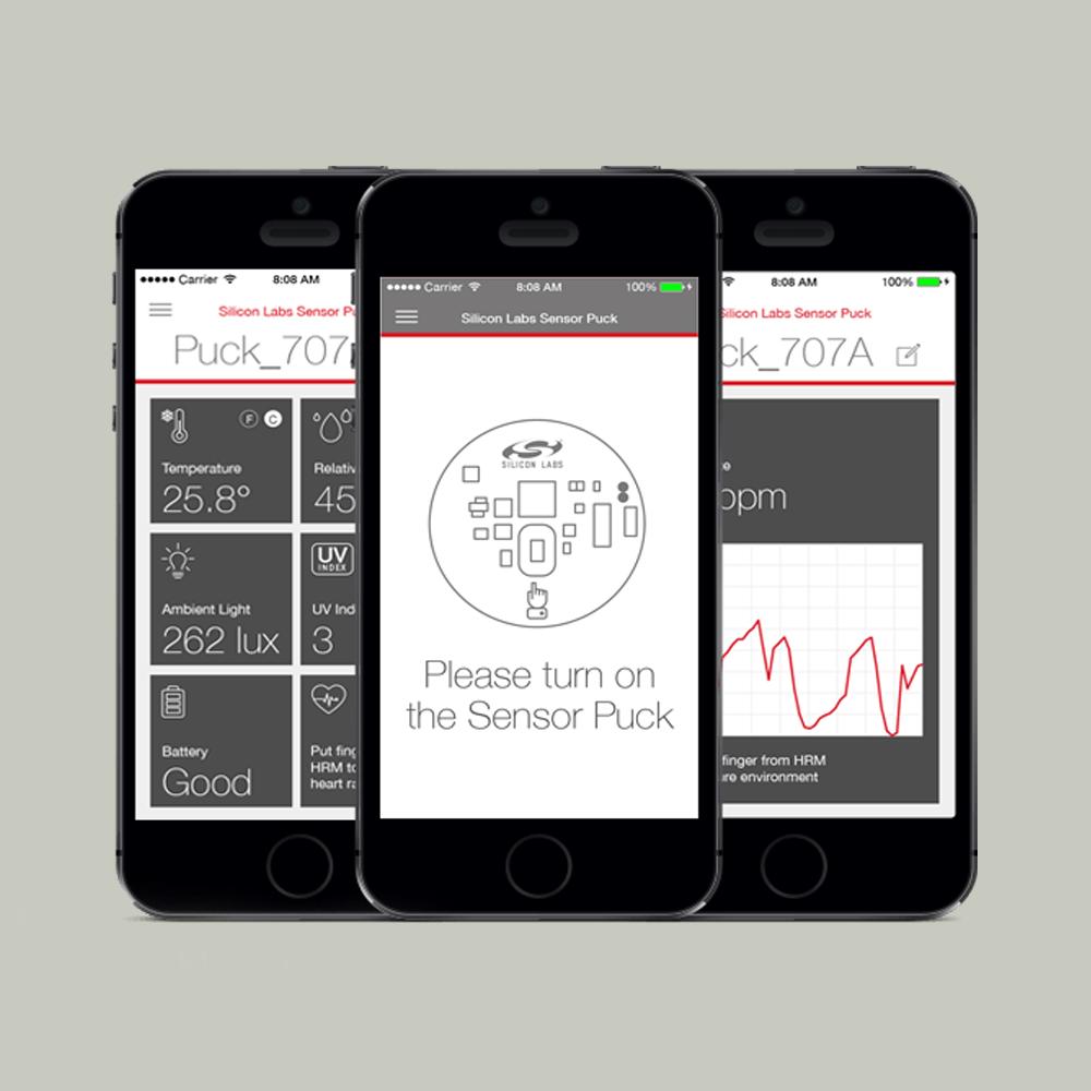 Home Automation Mobile Sensor POC iOS