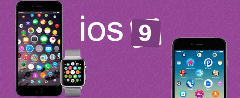 iOS9 First Look, iOS9 First View, iOS9