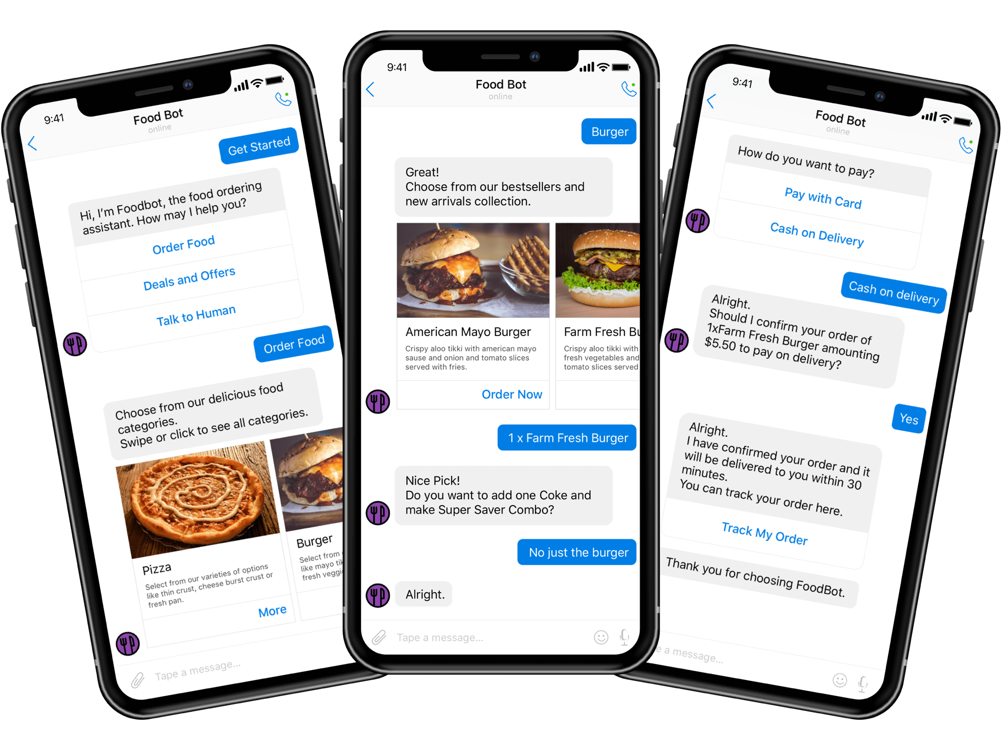 How much it will cost to develop a chatbot system for Food delivery