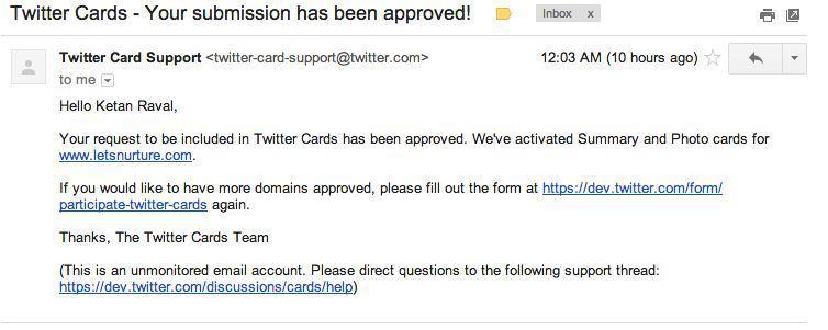 twitter-card-approval-letsnurture