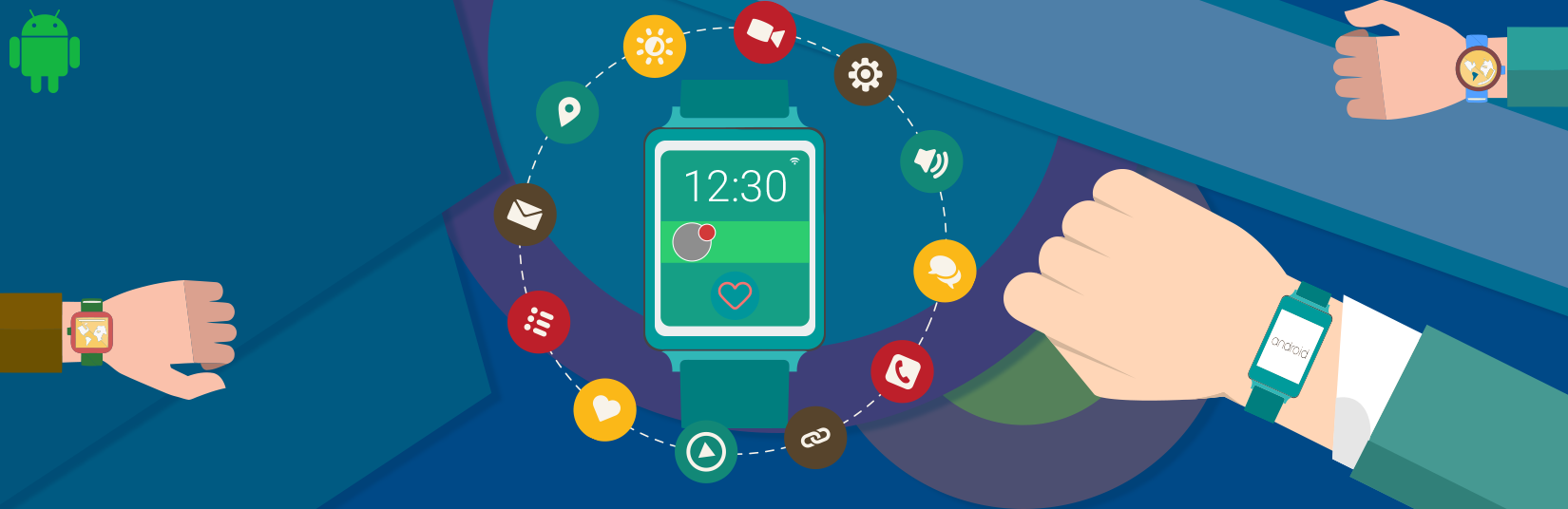 Android wearables app development