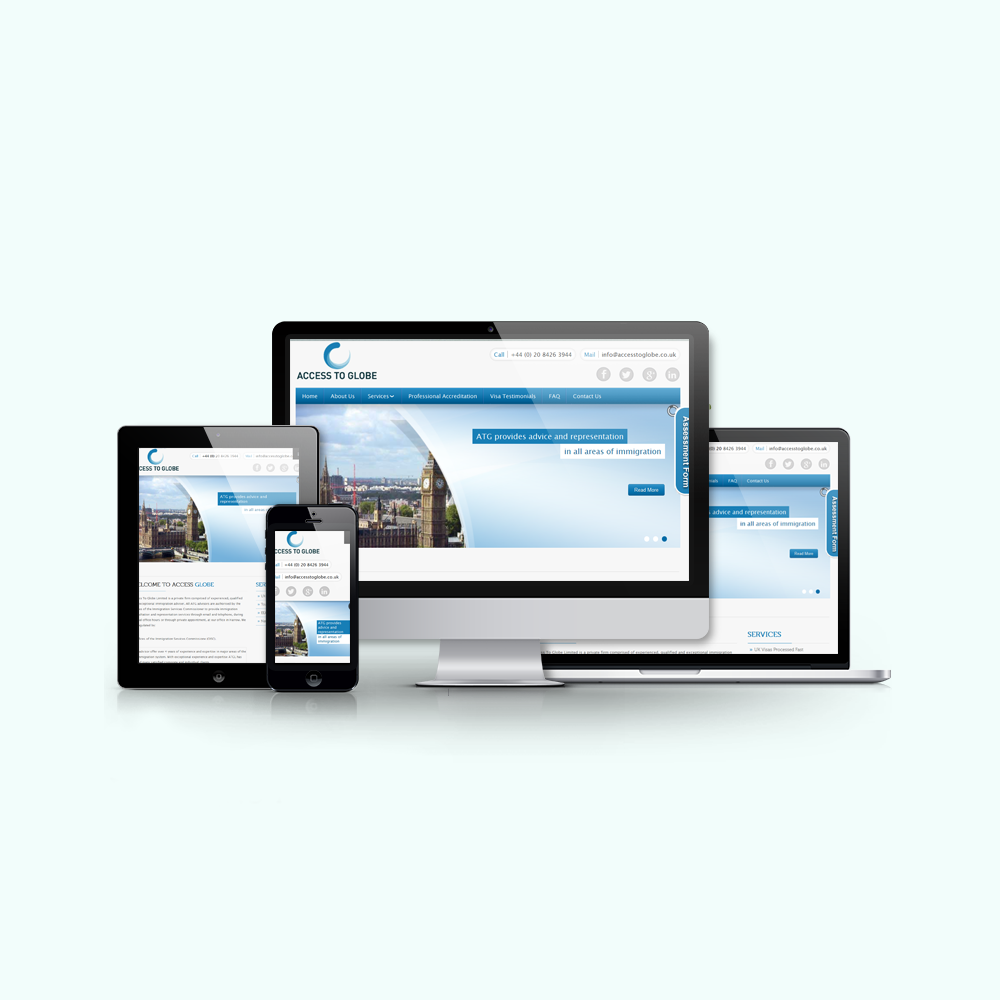 WordPress Responsive Website For Immigration Consultant