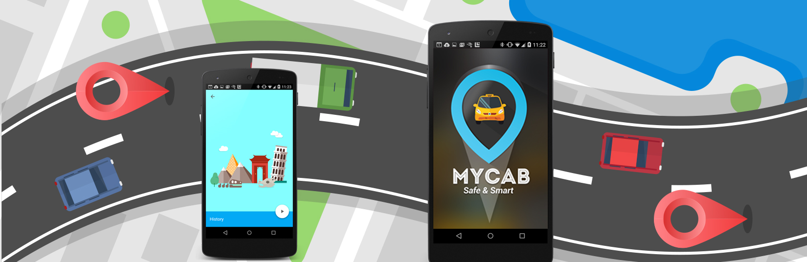 My Cab Mobile Application