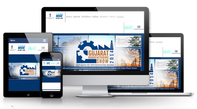 Responsive HTML5 Website For Public Conference In India