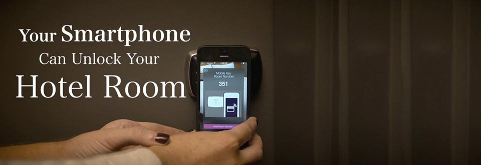 Smartphones to Unlock the Hotel Room with a Mobile Application