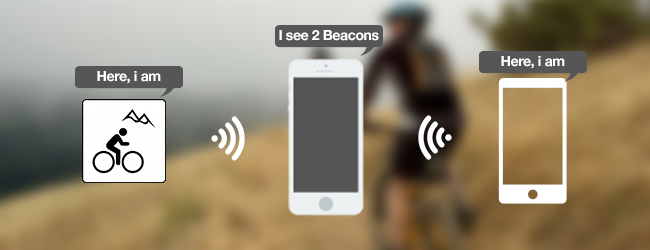 Beacons on Bicycle, Beacons app development