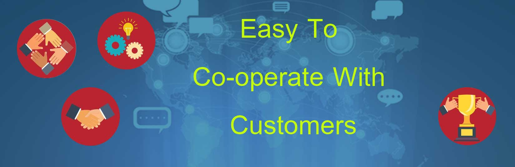 Easy co-operation with suppliers
