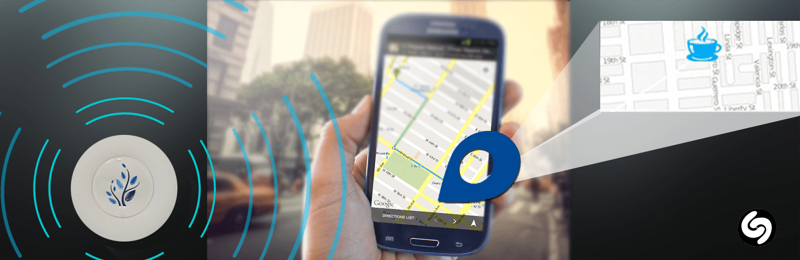 Beacons to Empower  Shazam Music App to Provide Location Based Information!