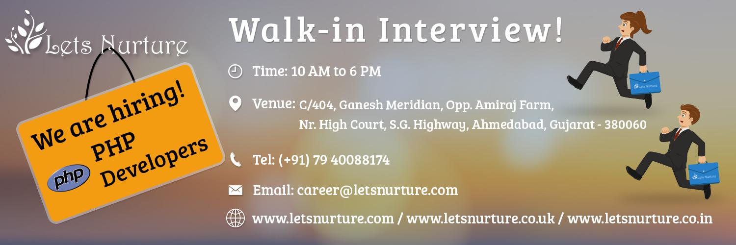 Open Interviews letsnurture