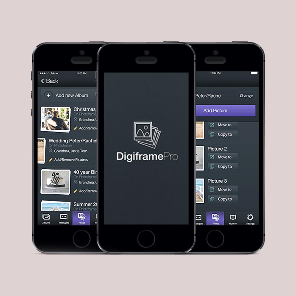 DigitalFrame Management Using Mobile Application