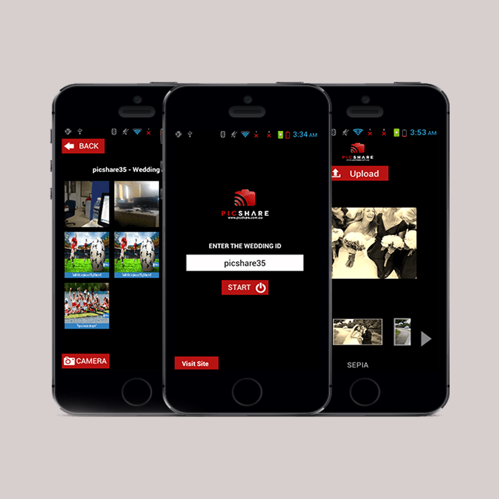 Photo Sharing Mobile Application