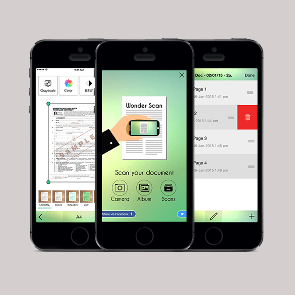 Mobile Scan Solution Application In iOS