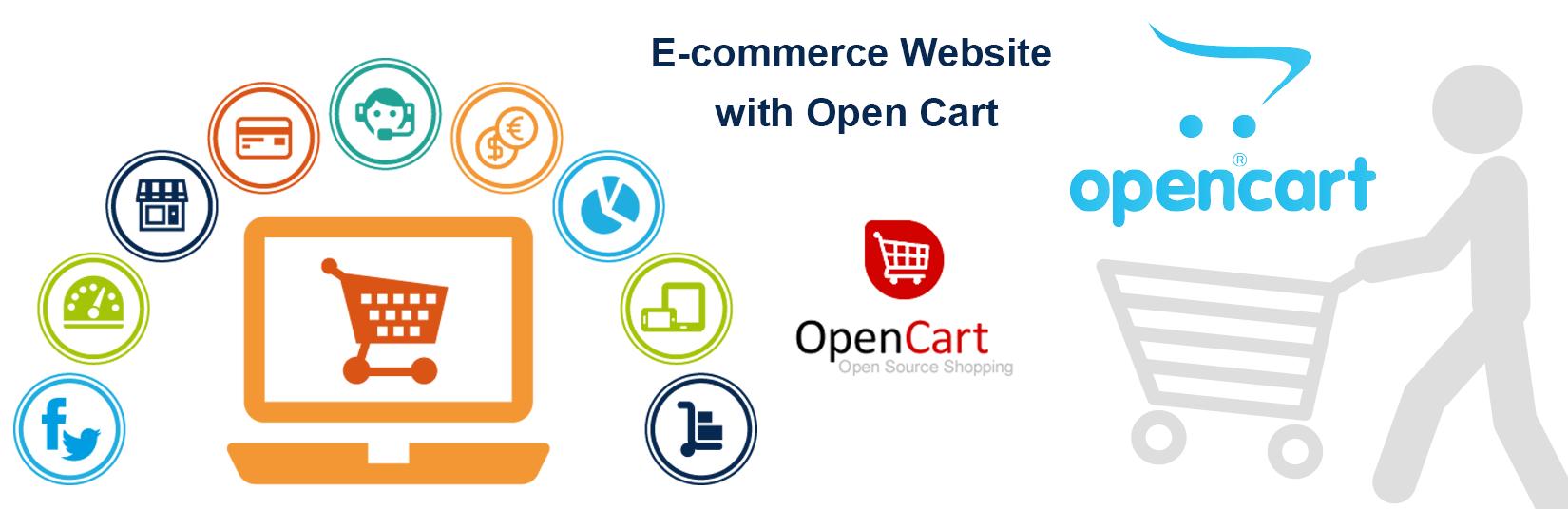 Opencart ecommerce website development