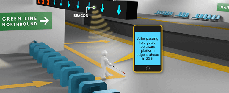 Beacons Will Now Guide the Blind to Walk through London Subways!