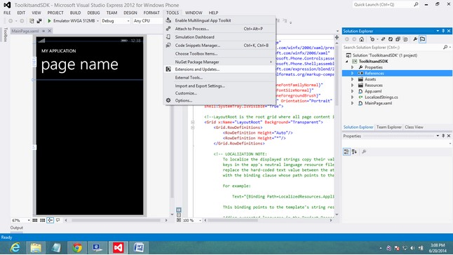 Extend and Updates in Windows App development