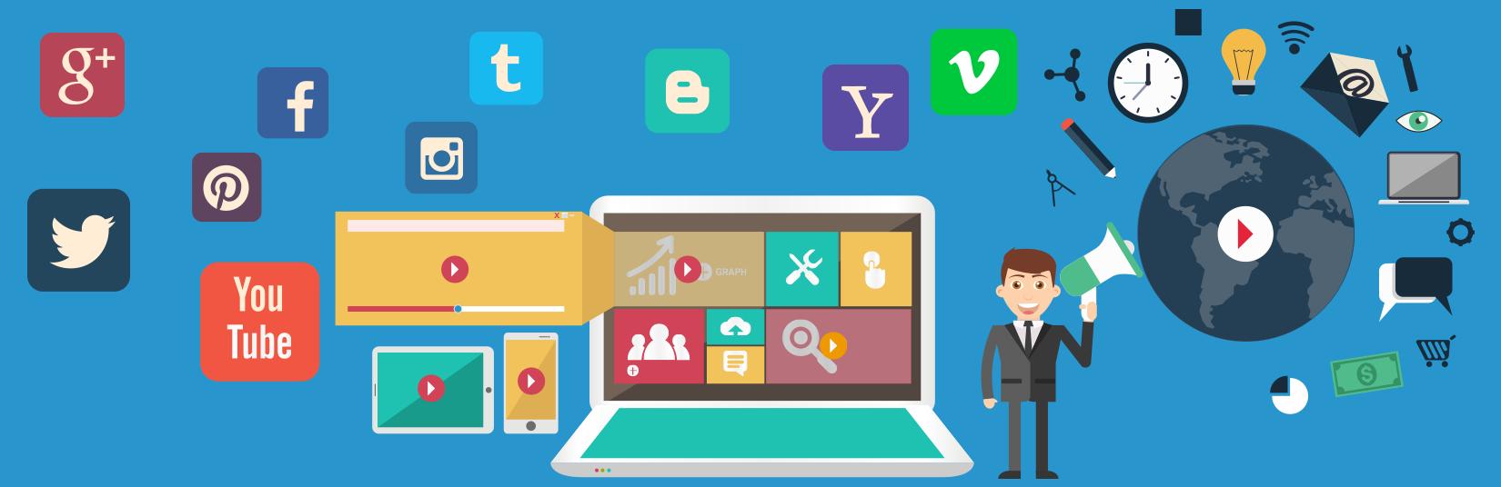 Video marketing, Channel Marketing, YouTube marketing, vimeo marketing, DailyMotion marketing