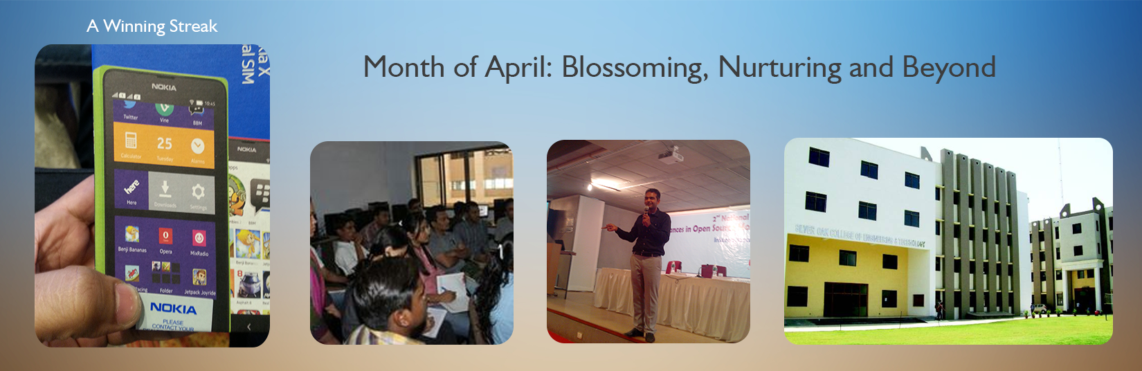 Month of April: Blossoming, Nurturing and Beyond