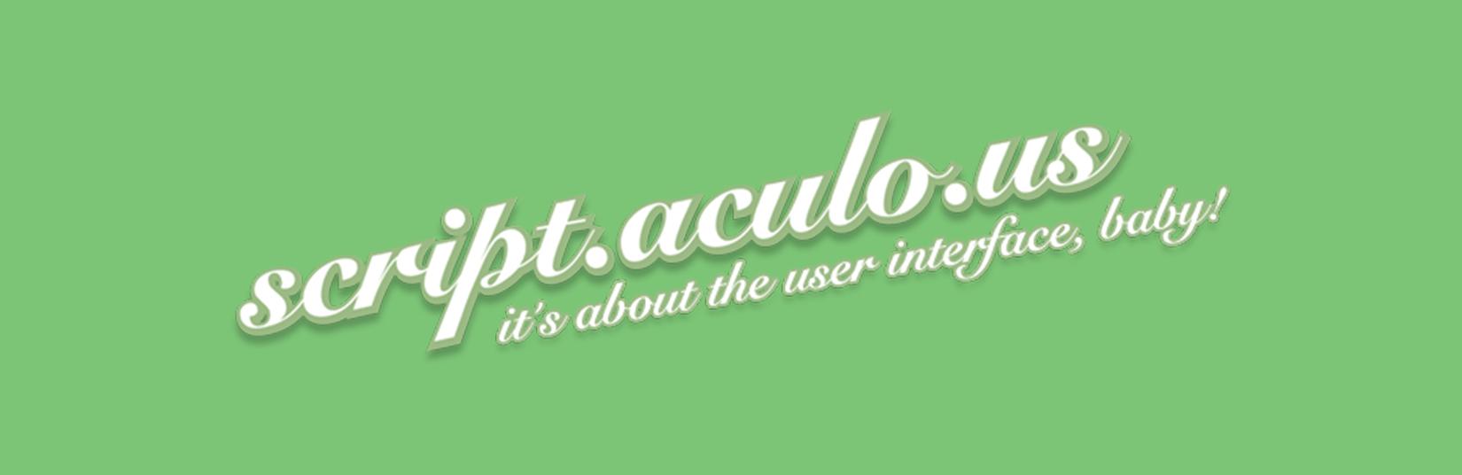 Script.aculo.us_Development_Service