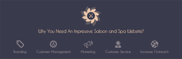 Salon Website Design