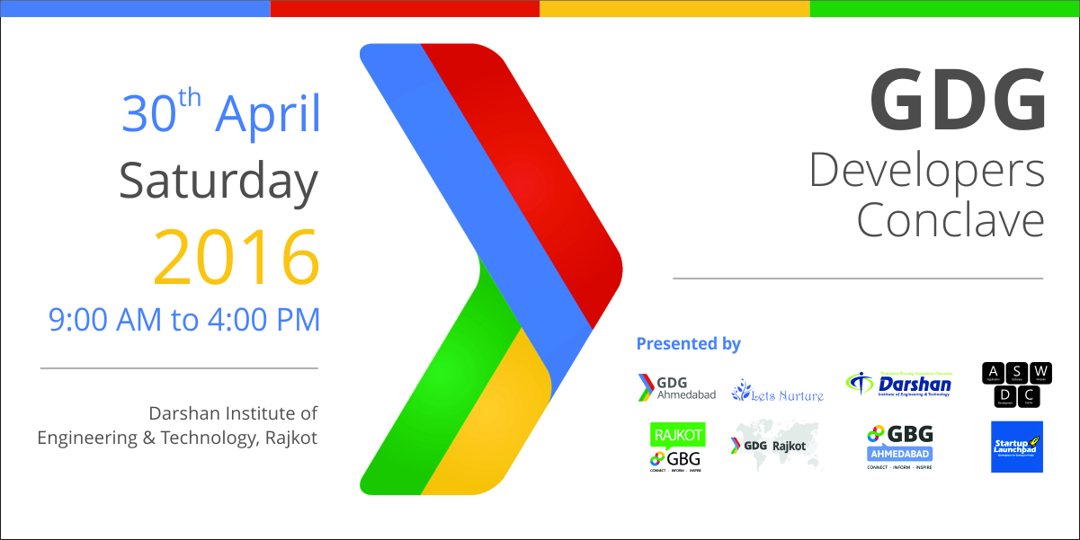 GDG Conclave (Google Developers Group) – Grand Knowledge Sharing Event At Rajkot