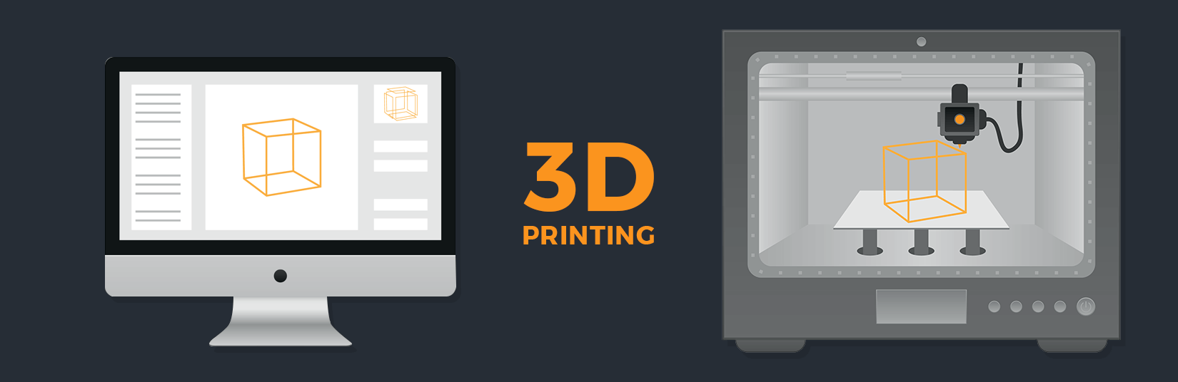 Custom App for 3D Printing Technology – Eyes On The Future World