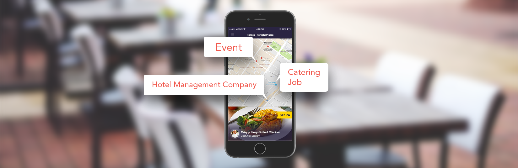 catering app development