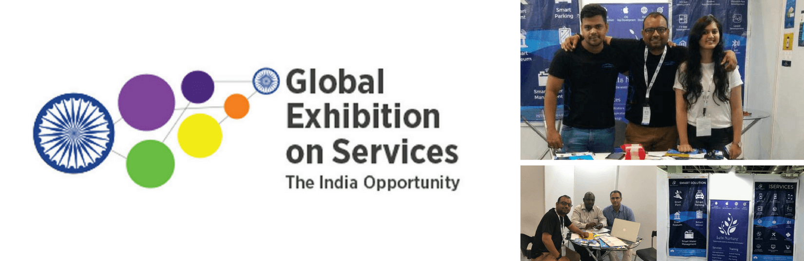 LetsNurture commends the success at Global Exhibition on Services, at Greater Noida (GES 2017)
