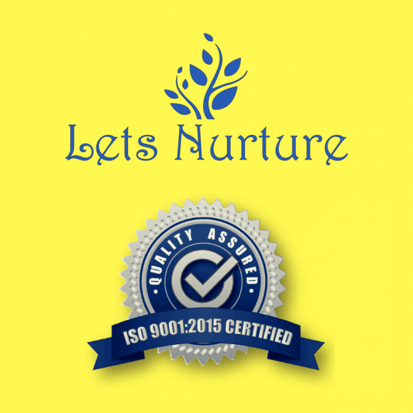 Let's Nurture gets ISO 9001:2015 certification