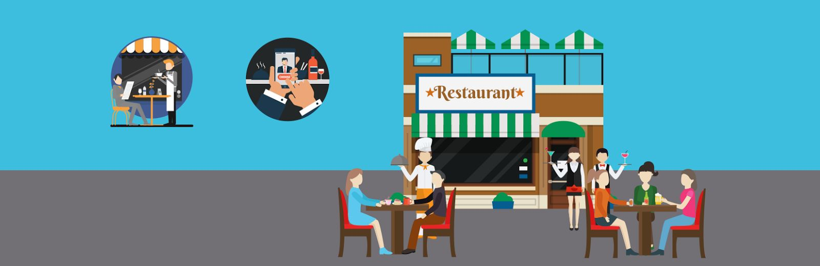 IoT solutions and Restaurant apps