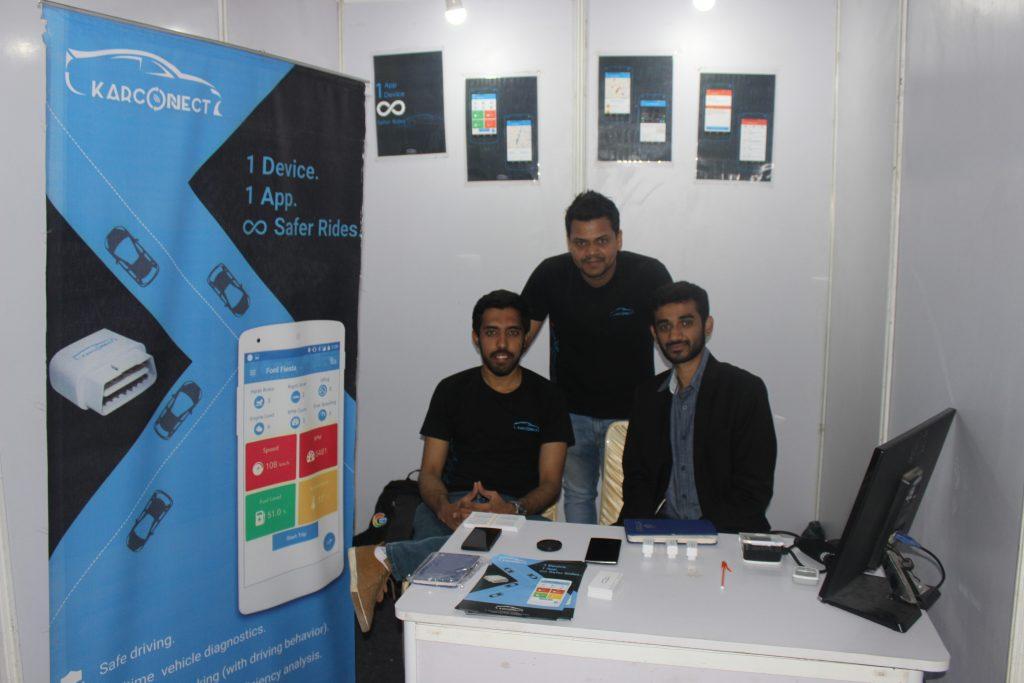 Let's Nurture Team Showcasing IoT solutions