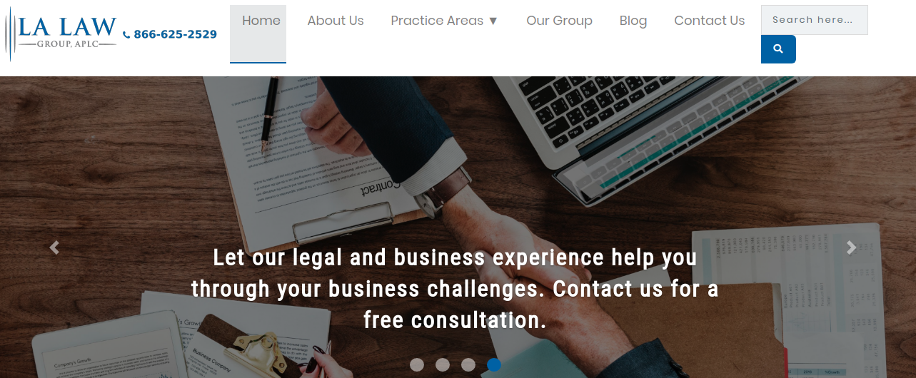 Ecommerce Platform for Legal Services