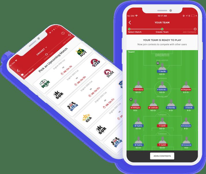 Fantasy sports app letsnurture infotech