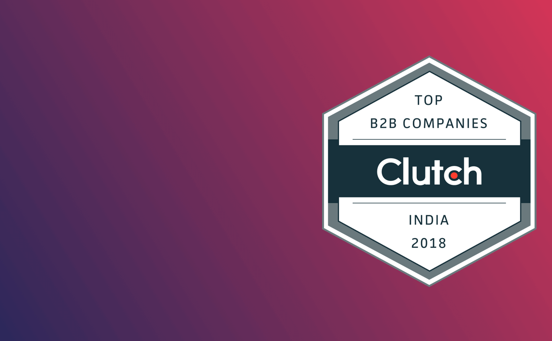 Clutch named Let's Nurture amongst Top 10 B2B Solutions Providers in India 2018