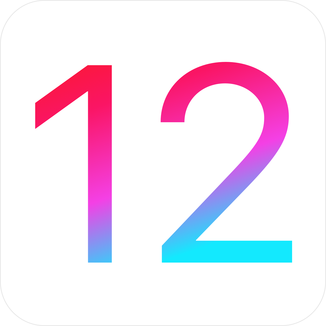 Apple launched ios 12