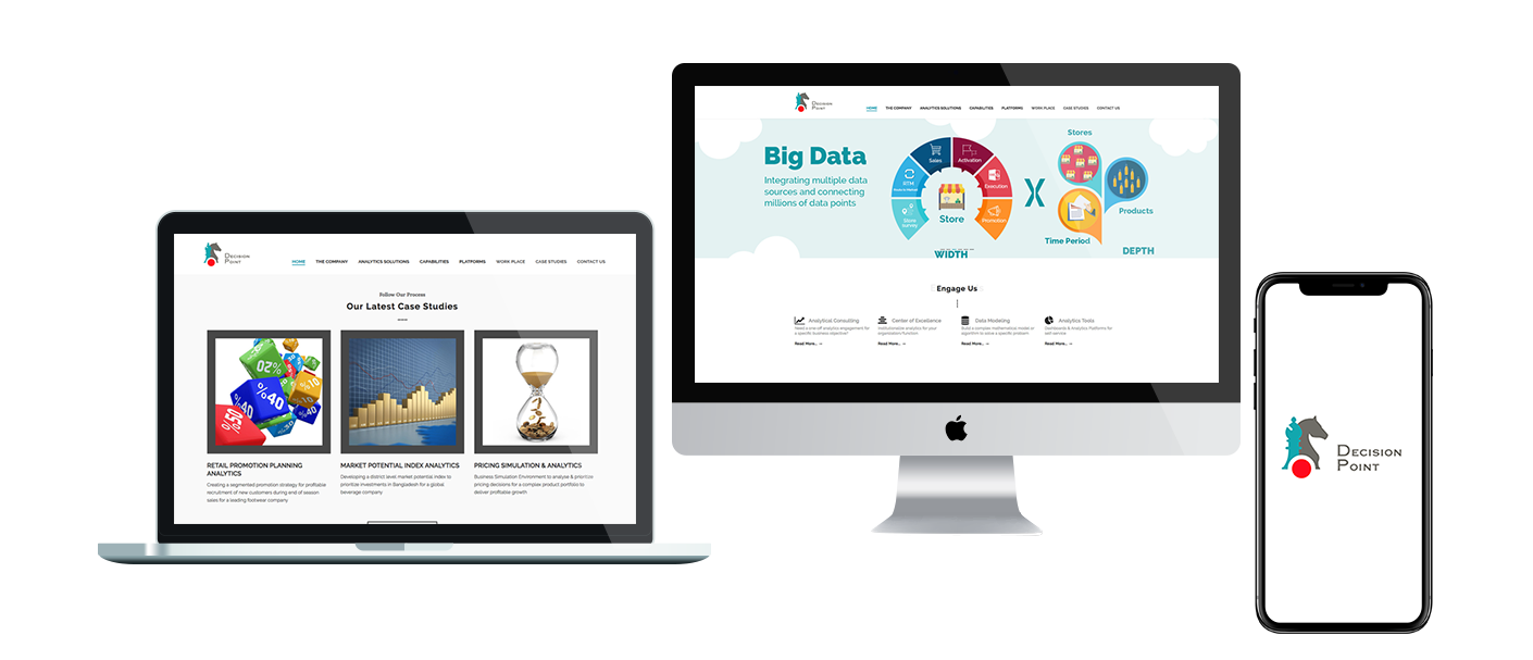 Redesigning Responsive CMS website for Big Data Solutions