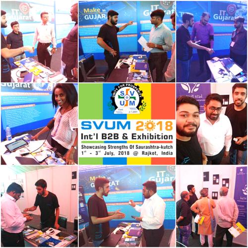 5th Edition of SVUM (Saurashtra Vepar Udyog Mahamandal) 2018 – International B2B & Exhibition at Rajkot, Gujarat