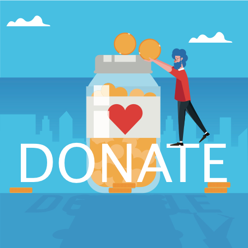 Donation Buttons through Mobile Wallets