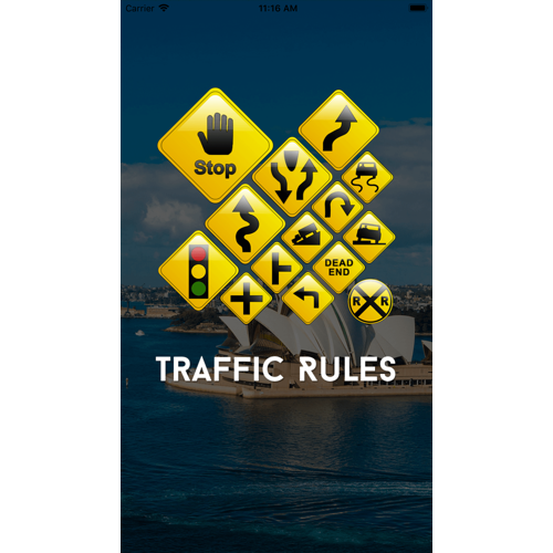 Australia based traffic Signs learning application