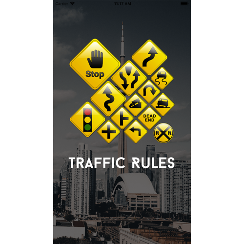 Canada based traffic Signs learning application