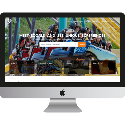 Marketplace application for tourists & travelers