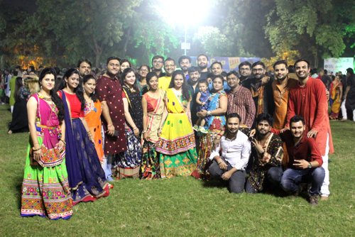 Let's Nurture danced to the tunes of Garba