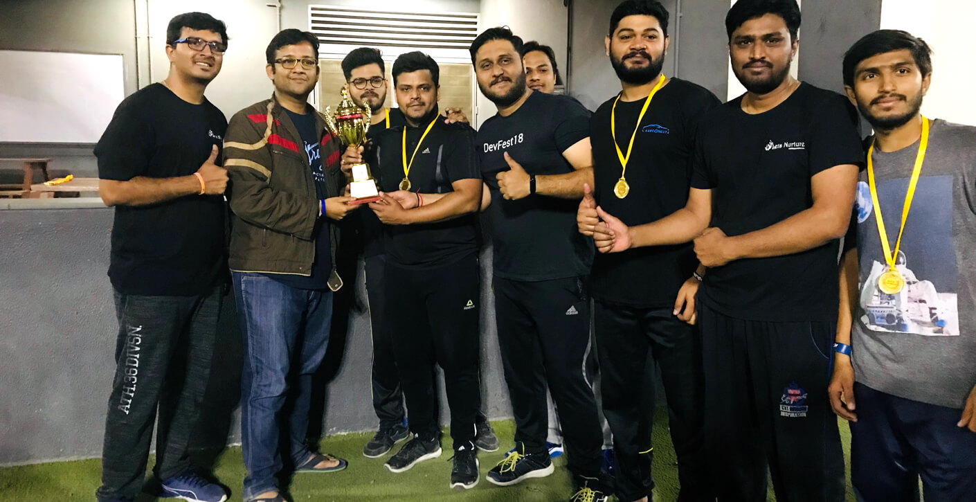Team Let's Nurture Wins a Trophy on Debut at Socio Gully