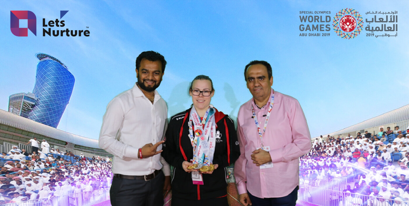 Let's Nurture became Tech Partners at Special Olympics 2019 in Abu Dhabi