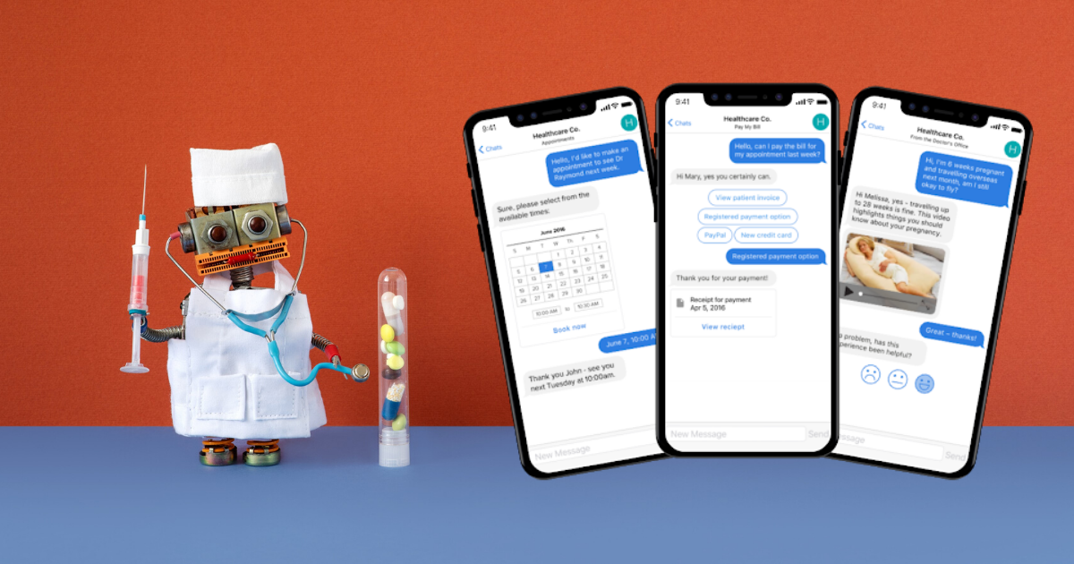 Chatbots for the healthcare industry